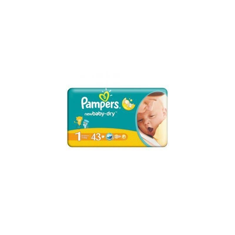 Scutece Pampers New Baby Newborn Nr 1 43buc (2-5kg)