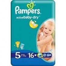 Scutece Active Baby Junior Pampers Nr 5 16buc