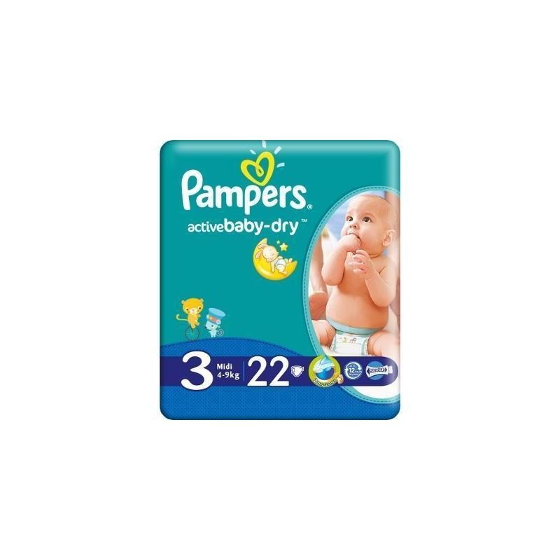Scutece Active Baby Midi Pampers Nr 3 22buc