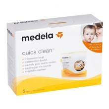 Medela Pungi de sterilizare Quick Clean 5 buc