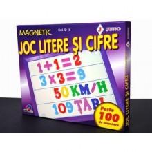 Joc litere si cifre magnetice 100 piese JUNO