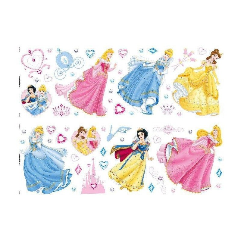 Sticker perete Princess -Decofun