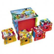 Set mobilier Mickey Disney