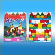 Joc de constructie Arco Plus 60 piese JUNO