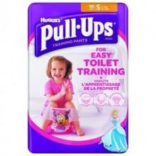 Chiloti antrenament olita Pull Ups Huggies S (8-15kg) fetite