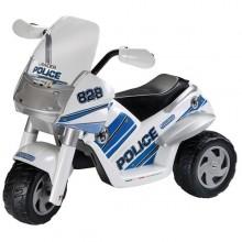 Peg Perego Tricicleta electrica Raider Police Polizei