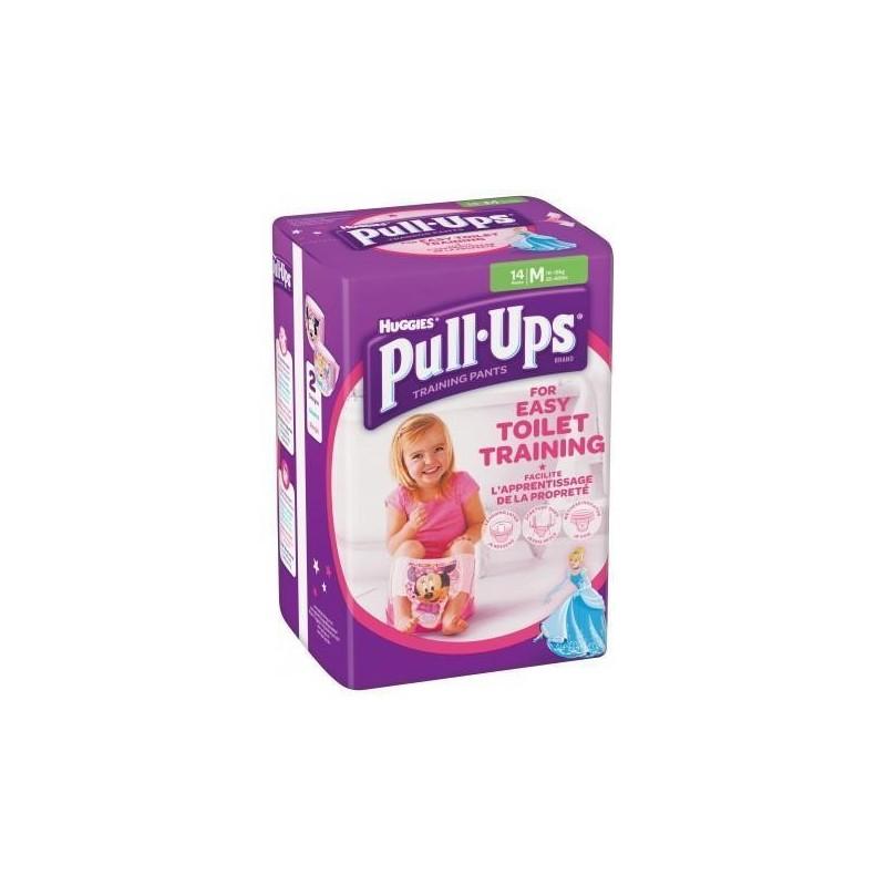 Chiloti antrenament olita Huggies Pull Ups M (10-18kg) fetite