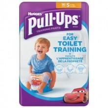 Chiloti antrenament olita Pull Ups Huggies S (8-15kg) baieti