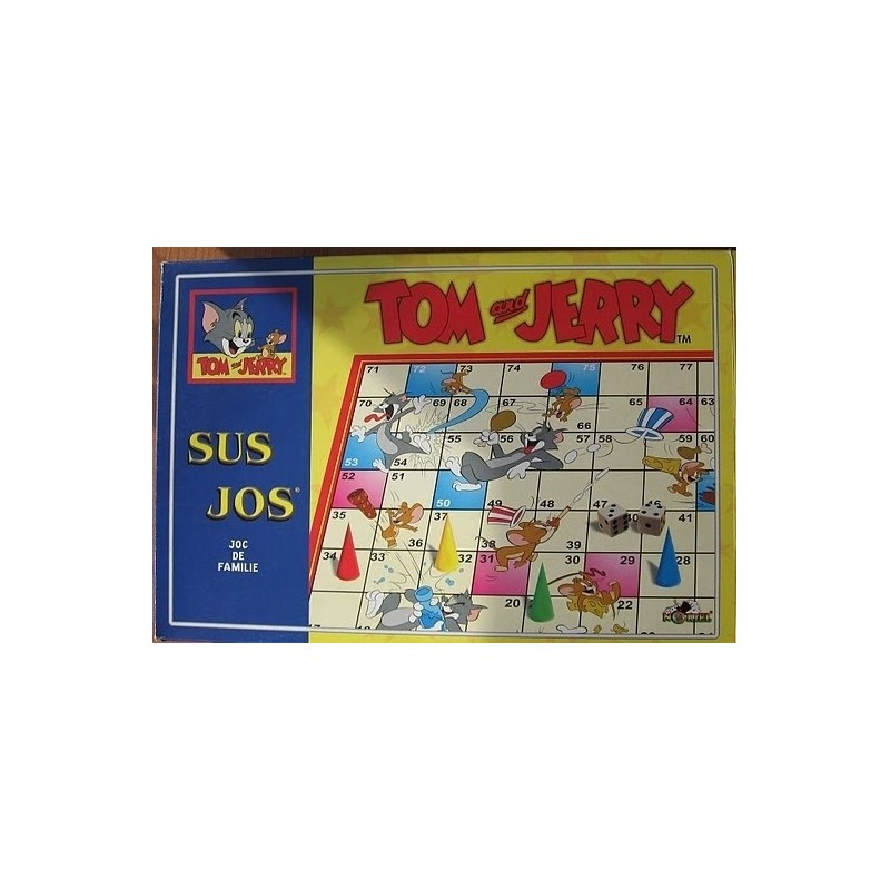 Sus jos- Tom si Jerry
