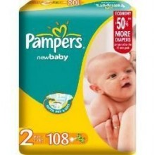 Scutece Pampers New Baby Nr 2 Mini 108buc 3-6kg