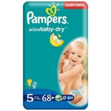 Scutece Pampers Active Baby Junior Nr 5 68buc