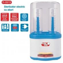 Primii Pasi Sterilizator electric cu aburi pentru 2 biberoane