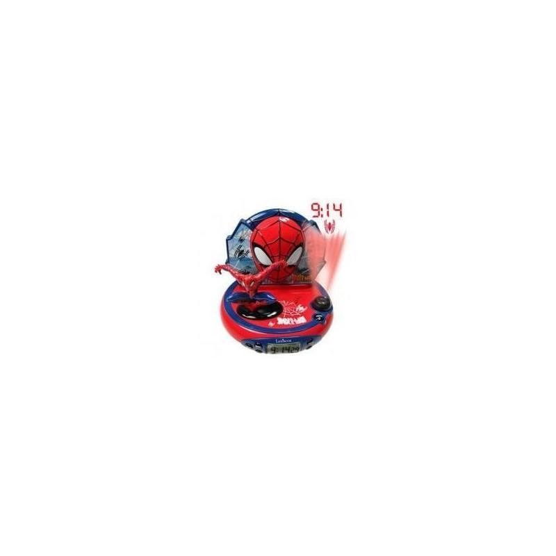 Lexibook Radio ceas alarma si proiectie Spiderman