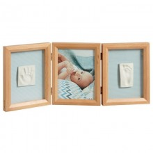 Double foto amprenta Double Print Frame Baby Art Honey