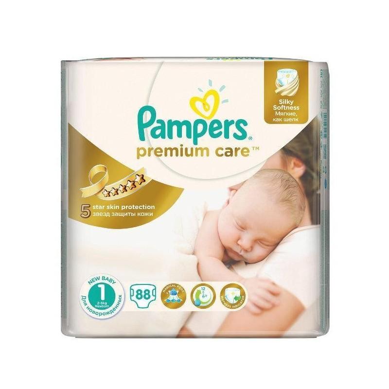 Scutece Pampers Premium Care Nr 1 78buc 2-5kg