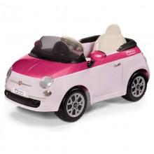 Peg Perego Masinuta Fiat 500 Pink/Fucsia telecomanda