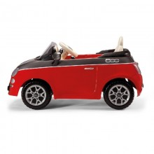 Peg Perego Masinuta Fiat 500 Red/Grey telecomanda