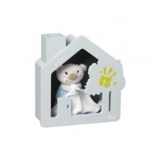 Kit amprenta bebe casuta cu memorii House Baby Art