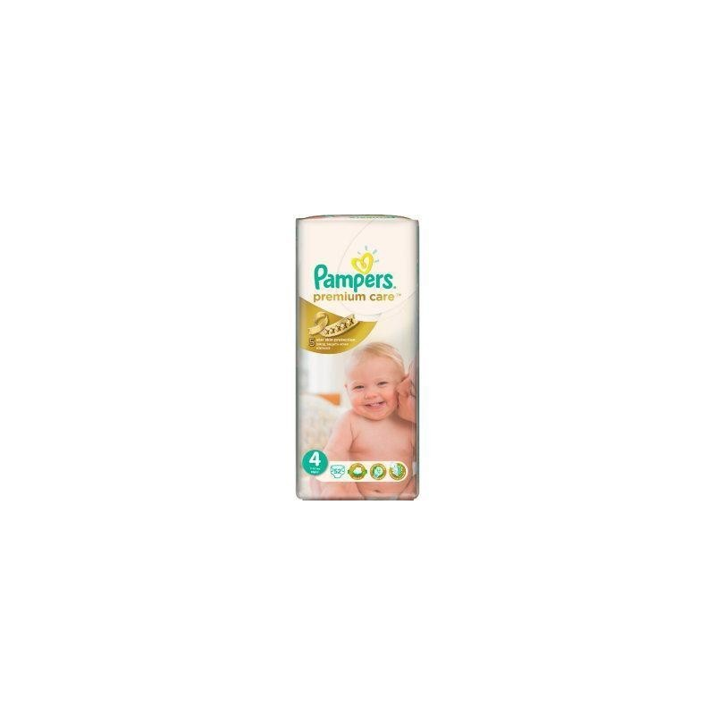 Scutece Pampers Premium Care Nr 4 52buc 7-14kg