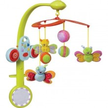 Carusel muzical Fluturasii fericiti Taf Toys