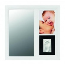 Rama cu amprenta si oglinda Mirror print Frame Baby art