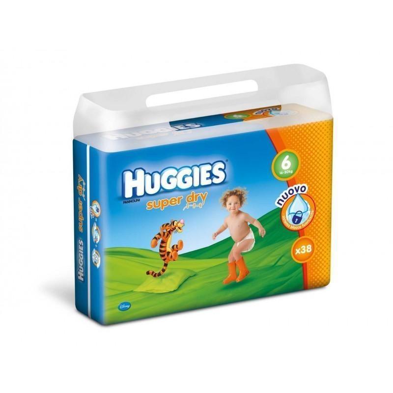 Scutece Huggies Nr 6 (16-30kg) 38 buc