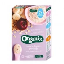 ORGANIX Cereale ECO ovaz orez banane si prune 200g