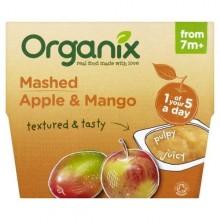 Organix Piure Eco Mere Mango 7+ 4x95g