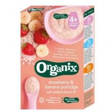 ORGANIX Cereale eco orez porumb banane si capsuni